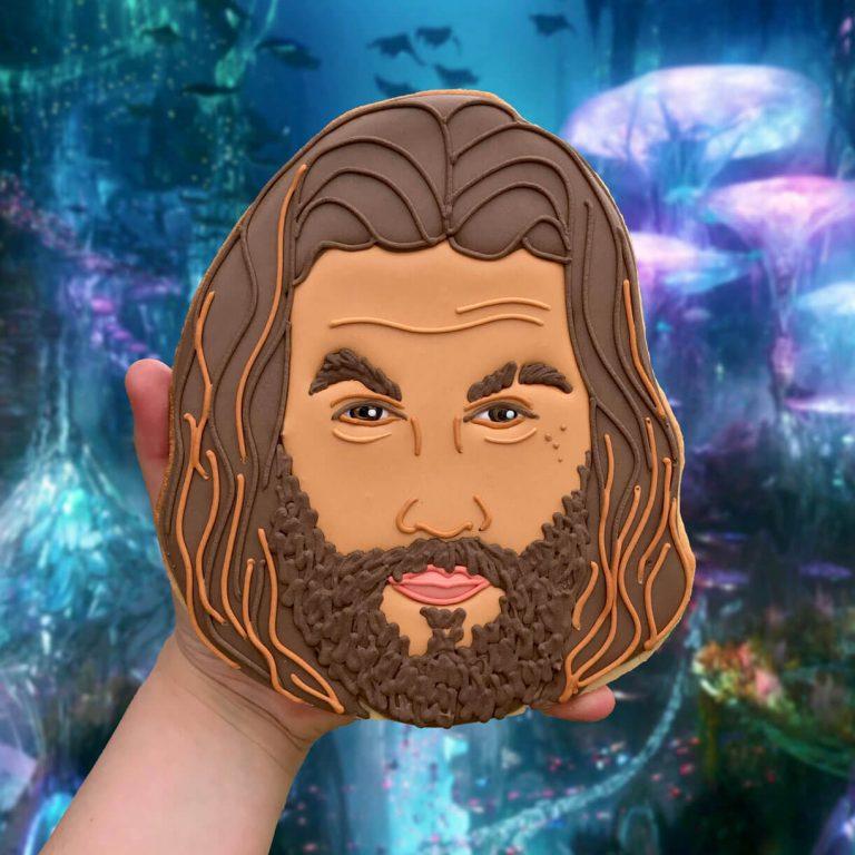 Aquaman Face Biscuit insta photo