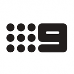 channel 9 logo bw