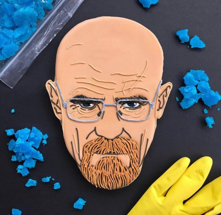 Walter White Face Biscuit insta photo