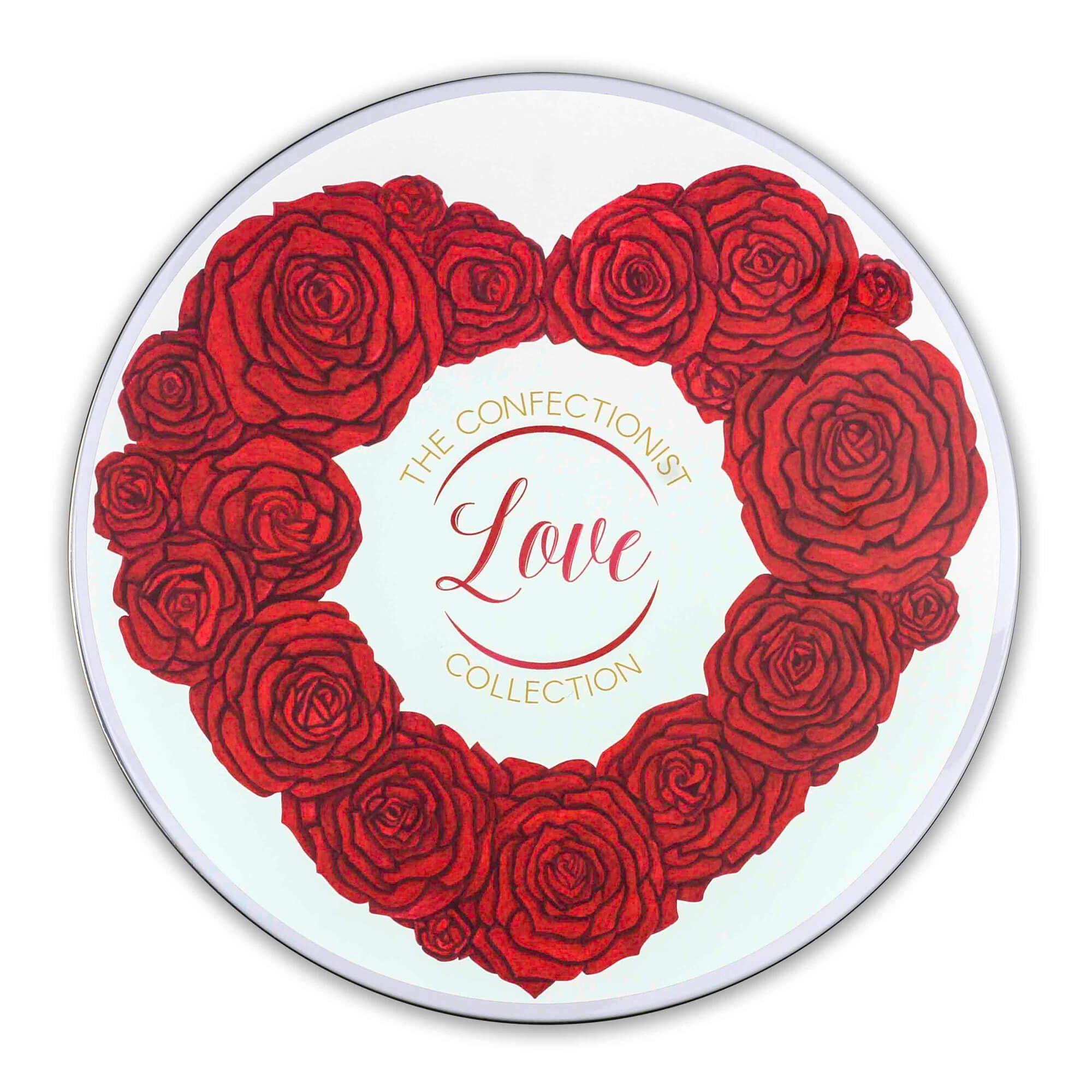 Love Biscuit Collection Tin Lid