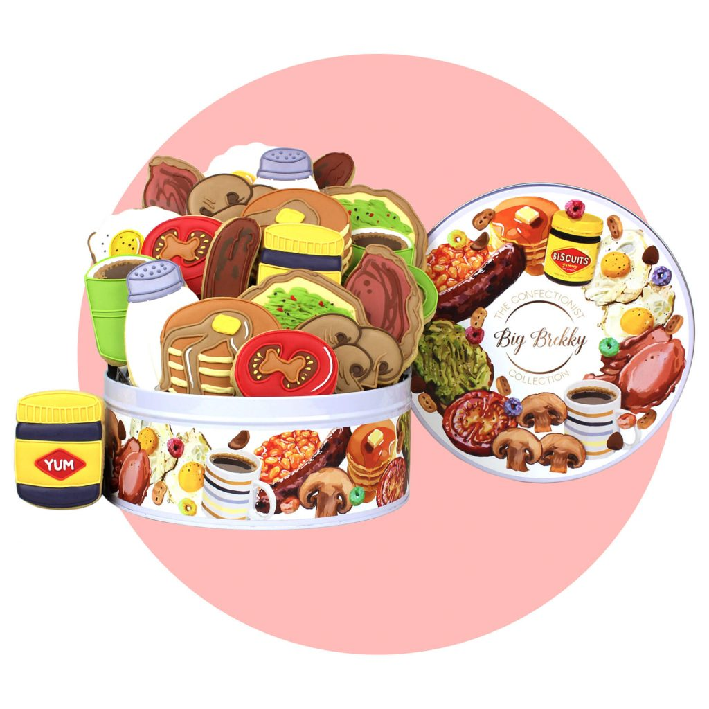 Big Brekky Collection for Fathers Day Gift with pink background