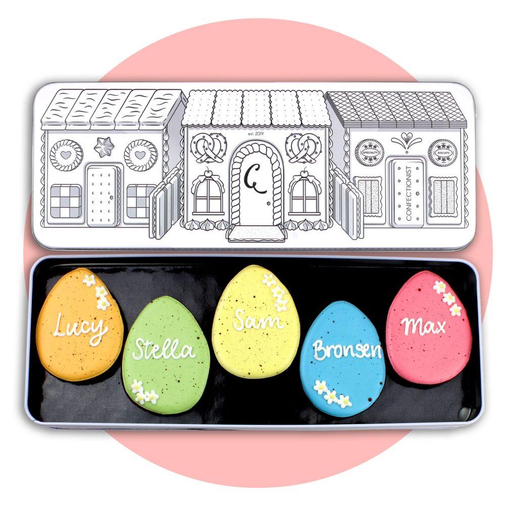 Easter Egg Biscuit Set