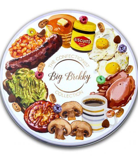 Big Brekky Collection tin Lid